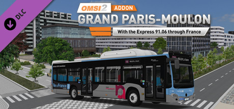 OMSI 2 Add-on Grand Paris Moulon PC Game Free Download